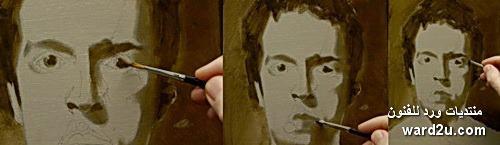 تقنية الرسم بالألوان الزيتية شرح مصور