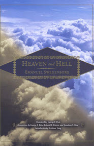 Cover of Emmanuel Swedenborg's Book Heaven And Hell