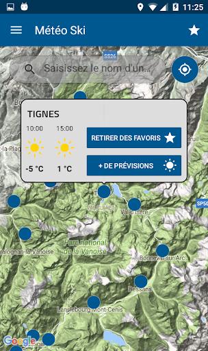 Mu00e9tu00e9o-France Ski et Neige 3.0.5 screenshots 2