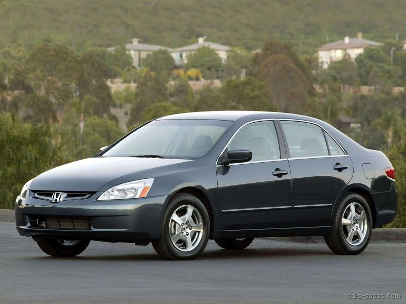 2005 honda accord hybrid specifications pictures prices. Black Bedroom Furniture Sets. Home Design Ideas