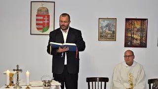 Ereky István Emlékház avatás és szentmise Lipótfán 3.