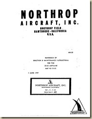 Northrop XB-35 Erection and Maintenance Instructions_02