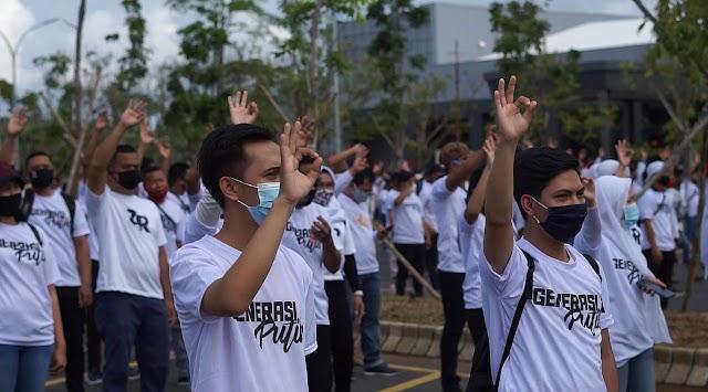 Siap Menangkan ZR, Generasi Putih Bergerak