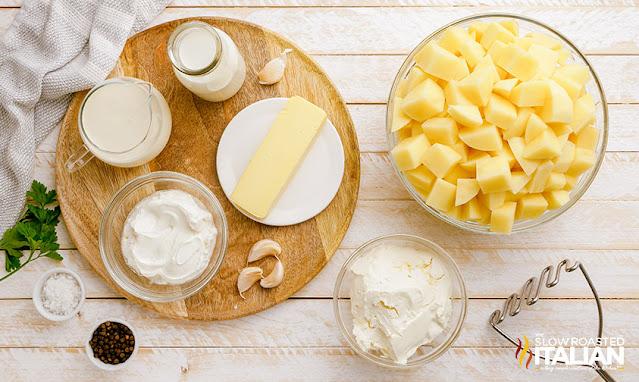 make ahead mashed potatoes ingredients