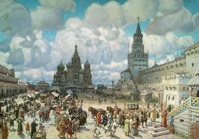 Красная площадь во второй половине XVII века, 1925