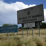 Riding Thro' Namibia