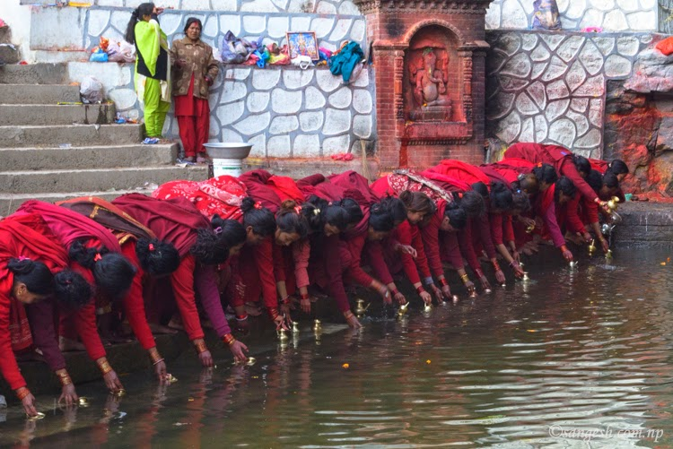 Swasthani devotees