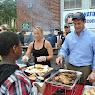 Community BBQ at Mount Olivet in Peekskill