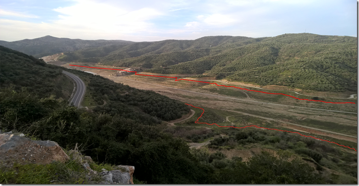 Panoramamik mit  Höhenunterschied entlang
