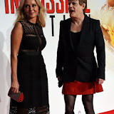 OIC - ENTSIMAGES.COM - Carol Vorderman and Eddie Izzard at the  Mission Impossible - Rogue Nation  Exclusive Screening in London 25th July 2015 Photo Mobis Photos/OIC 0203 174 1069