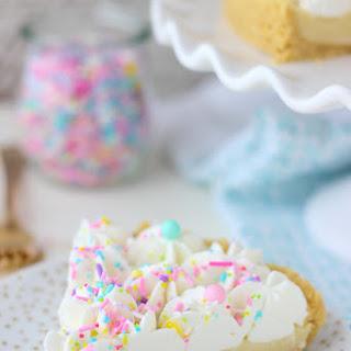 No-Bake Funfetti Pudding Pie