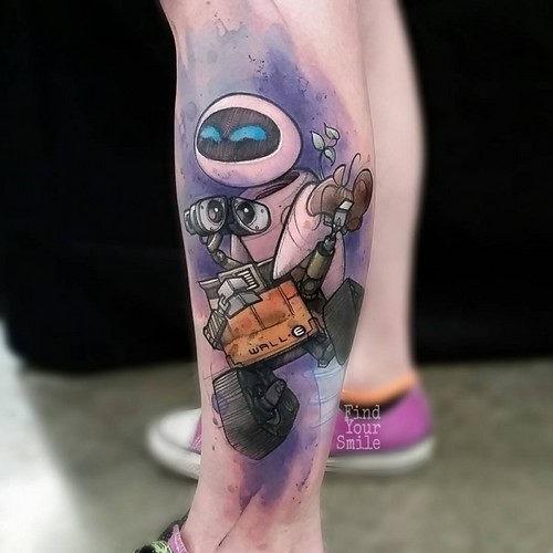 este_cativante_wall-e_e_eva_tatuagem