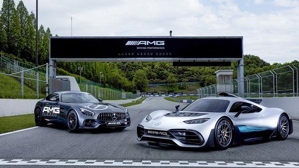 Mercedes race track