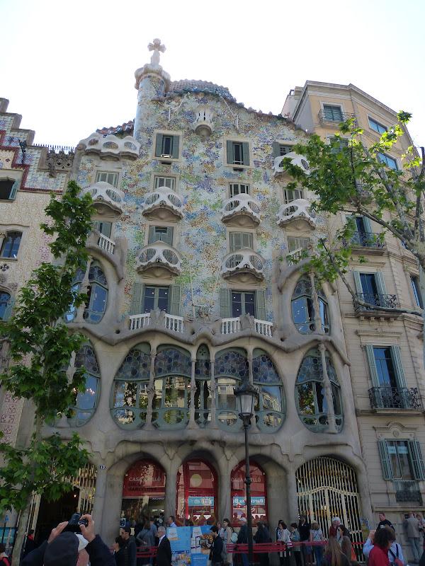 Les maisons de Gaudi P1350116-1