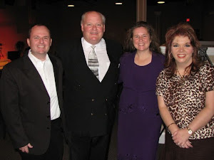 Charles and Susan with Pastors Robb and Shanda Tripp of The Fireplace Fellowship in Gallatin, TN. They are faithful supporters of Ecuador Missions. We love them!