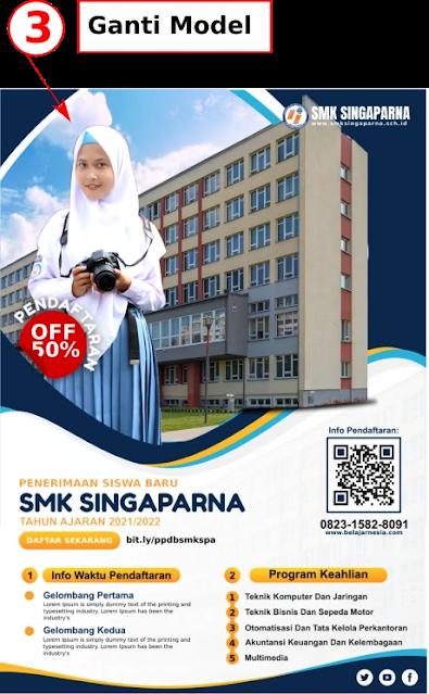 Download Brosur Penerimaan siswa baru SMK Gratis