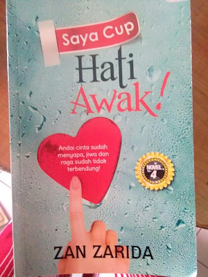Review novel:Saya cup hati awak!- Zan Zarida