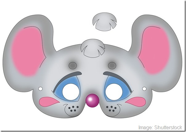 kids-face-masks-template-animals-grey-mouse-design