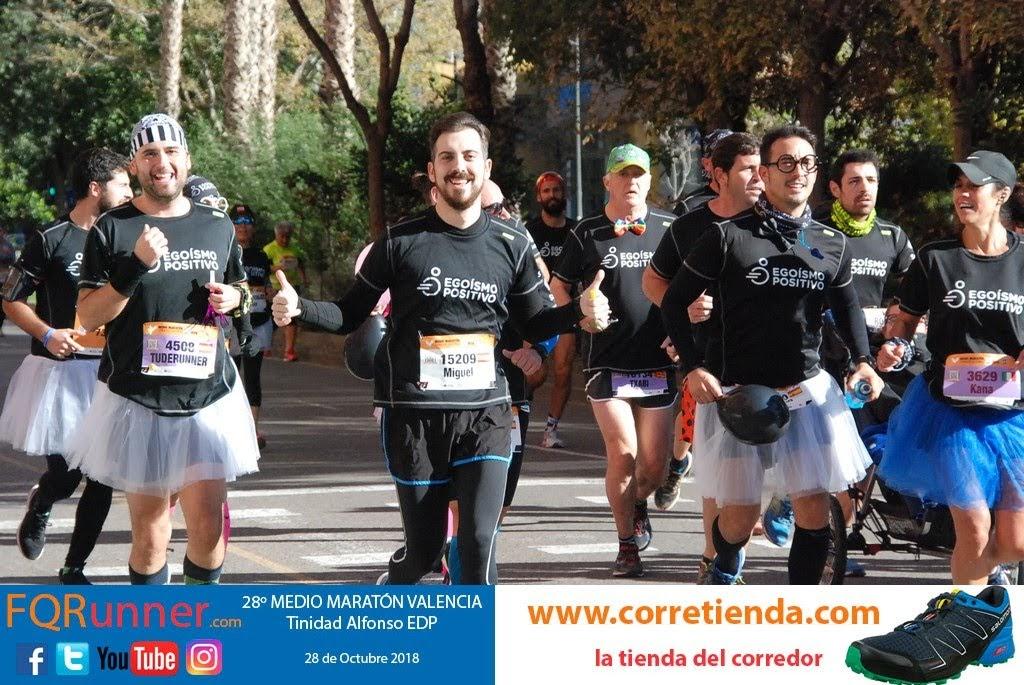 Media Maratón de Valencia 2018, animación desde dentro de la carrera