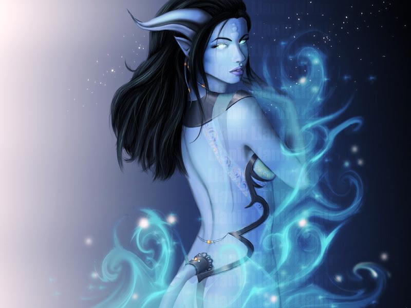 Elven Mystery Fantasy Girl, Elven Girls