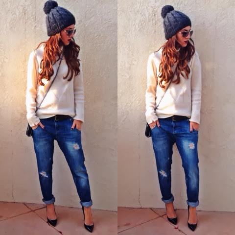 Tania Sarin: 100% Cashmere Turtleneck Sweater
