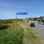 Ocean View Parade sign in Caves Beach (387542)