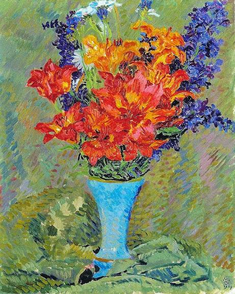 Giovanni Giacometti - Feuerlilien