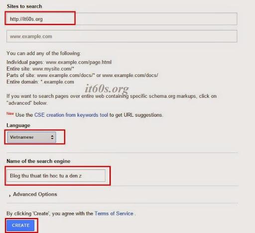 Cách tích hợp công cụ tìm kiếm google vào wordpress không dùng Plugin 4