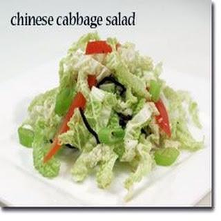 Chinese Chicken Cabbage Salad.