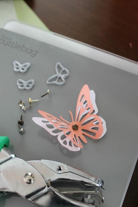 diecut butterflies cricut