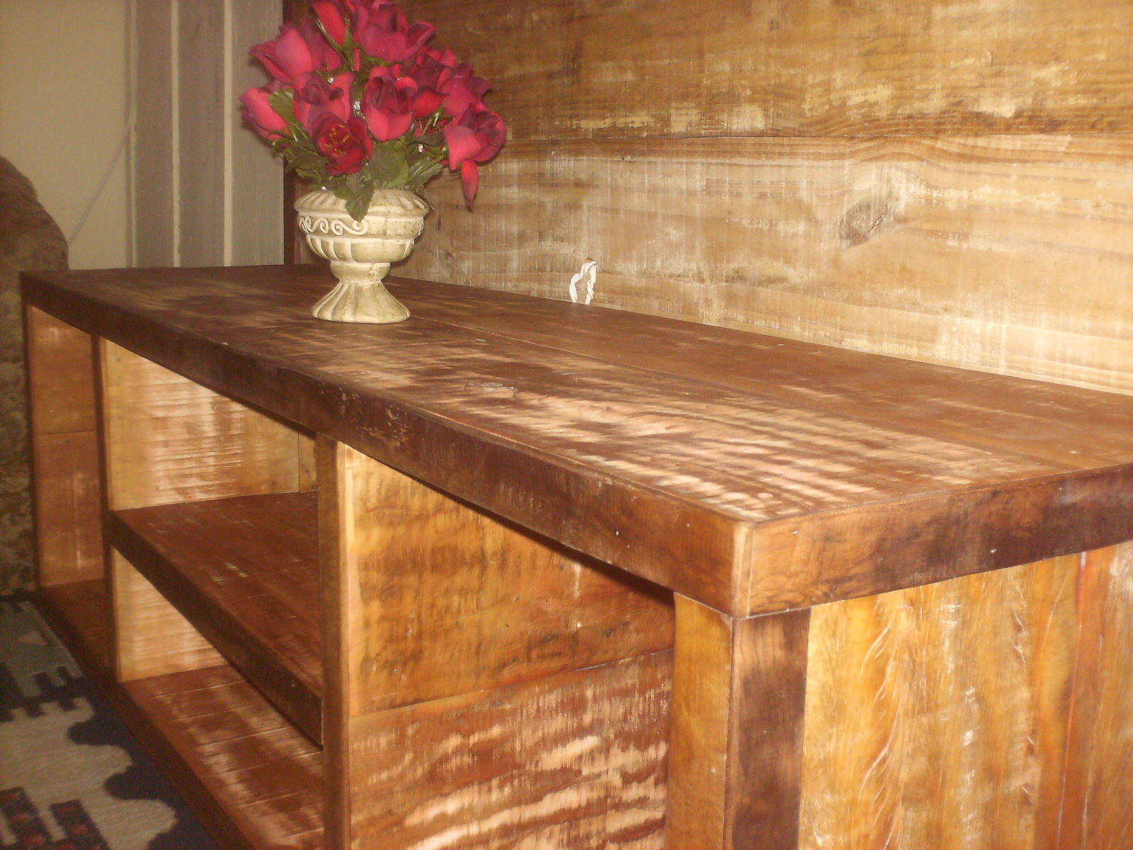 Adesivo De Geladeira ~ TALH'ARTE arte em madeira Rack e Painel em madeira de demoliç u00e3o!