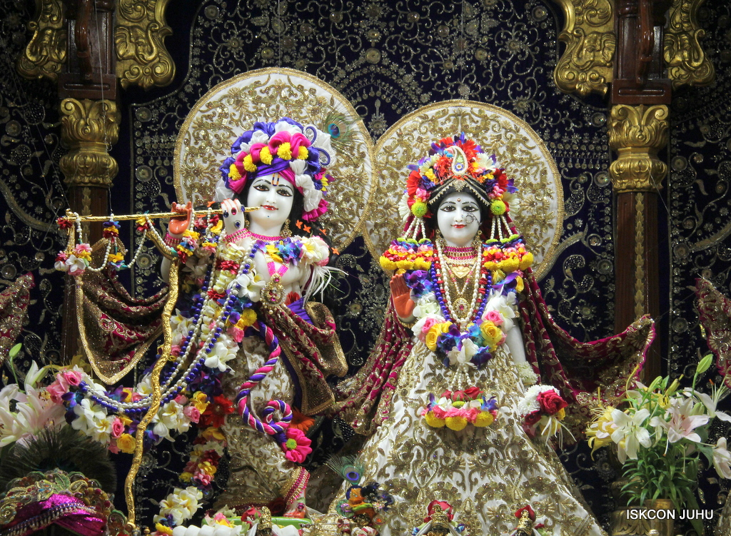 ISKCON Juhu Sringar Deity Darshan on 24th Oct 2016 (3)
