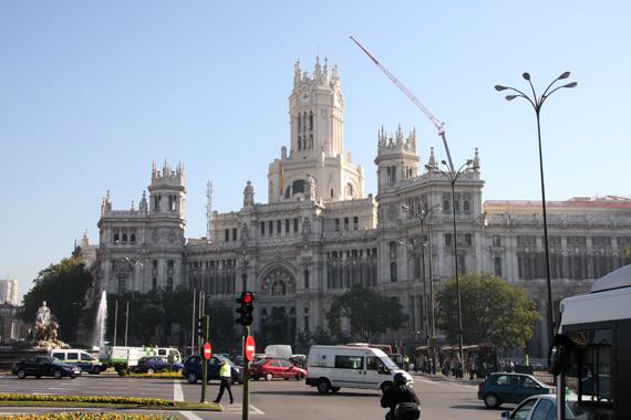 Ayuntamiento, Plaza de la Cibeles