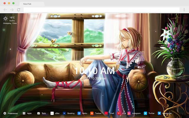 Alice Margate Royde New Tab Page  Themes