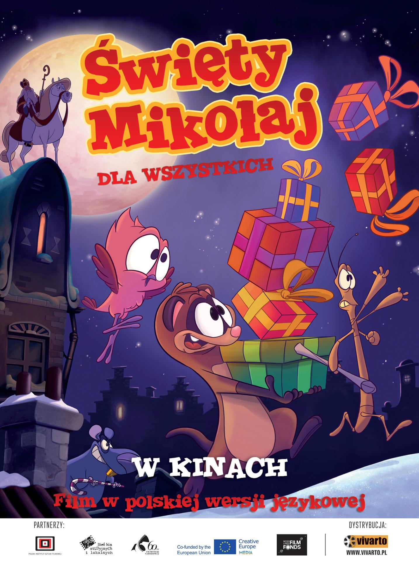 Ulotka filmu 'Święty Mikołaj Dla Wszystkich (przód)'