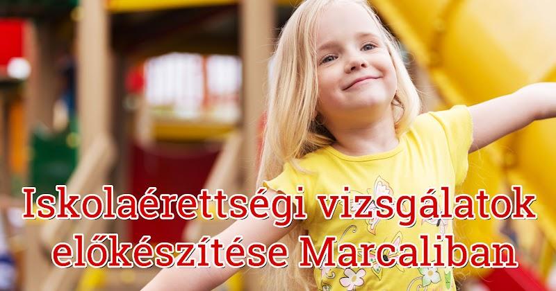 Iskolaérettségi vizsgálatok előkészítése Marcali 2016