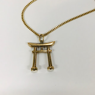 18K Gold Chain with 14K Pendant