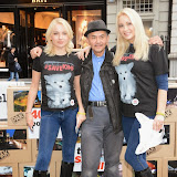 WWW.ENTSIMAGES.COM -    K9 Angels Pola Pospieszalska, See Li and  Victoria Eisermann    at  Save Kimi hits London -  Animal lovers protest at Burberry store London October 24th 2014FOUR PAWS submits over 200,000 votes of protest to the British fashion label.FOUR PAWS is an international animal welfare organisation making a stand against the cruelty of the fur animal industry.                                                Photo Mobis Photos/OIC 0203 174 1069