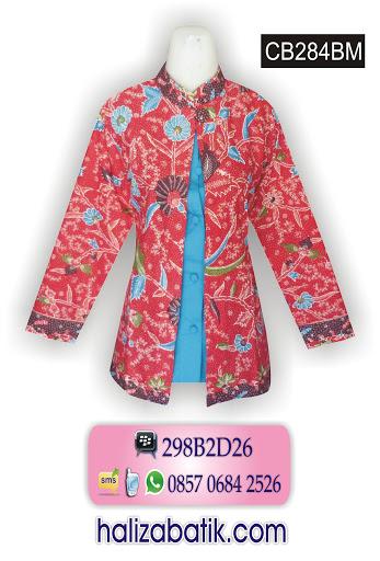 Grosir Baju Batik, Batik Kerja Wanita, Batik Modern Online
