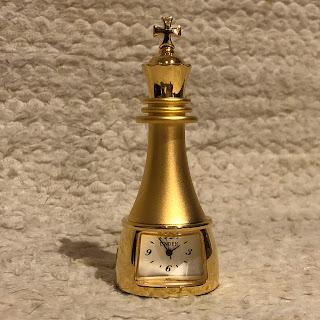 Linden Miniature Clock