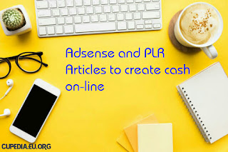 Adsense and PLR Articles to create cash on-line