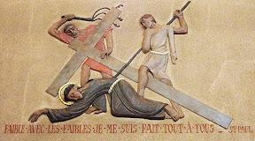 VIIème Station : Jésus tombe pour la deuxième fois
