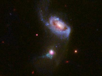 galáxias SDSS J1354 1327 e SDSS J1354 1328