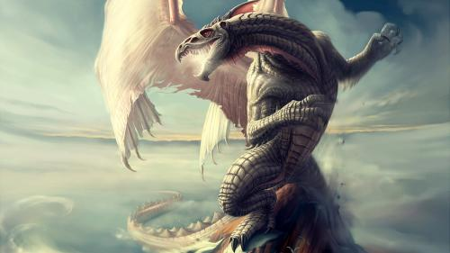 White Flying Dragon, Dragons