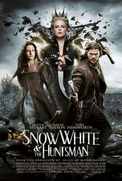 Poster Of Snow White and the Huntsman (2012) Full Movie Hindi Dubbed Free Download Watch Online At Alldownloads4u.Com