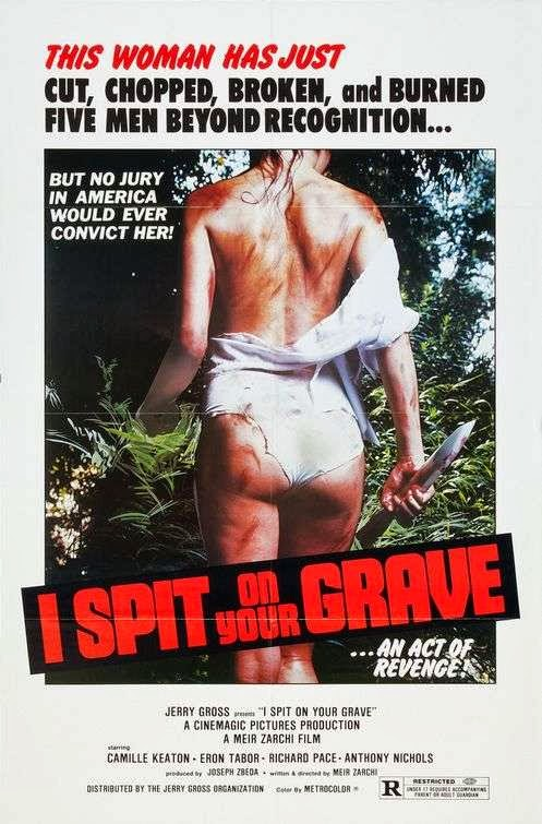 Poster Of I Spit on Your Grave (1978) Full Movie Hindi Dubbed Free Download Watch Online At Alldownloads4u.Com