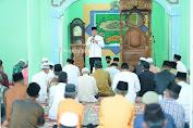 Hari Ke-8 Puasa Ramadhan 1442 H, Bupati HM.Wardan Laksanakan Safari Ramadhan Ke Kecamatan Mandah