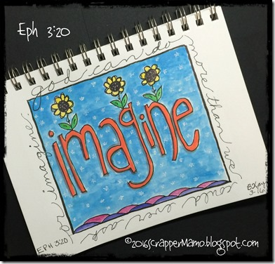 FaithArt Eph 3-20 Imagine