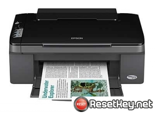 Reset Epson SX100 printer Waste Ink Pads Counter