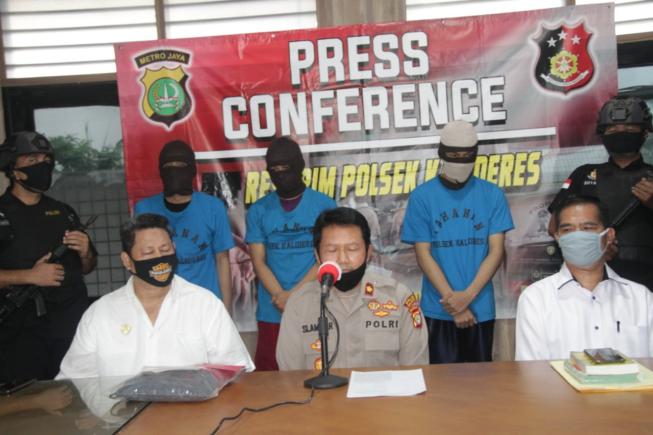 Tiga Pelaku Pemerkosaan Diringkus Polsek Kalideres, 1 Diantanya Security